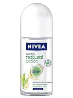 Roll-On Nivea Nature Action 50ml - OneSuperMarket